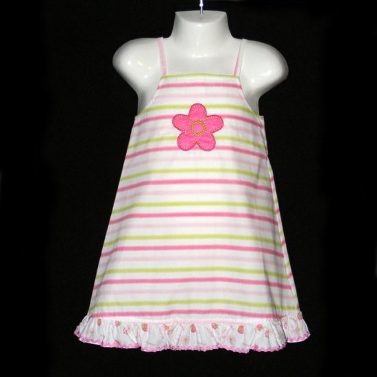 LIL' JELLYBEAN STRIPE SUNDRESS 2T - FREE USA + CAN SHIPPING
