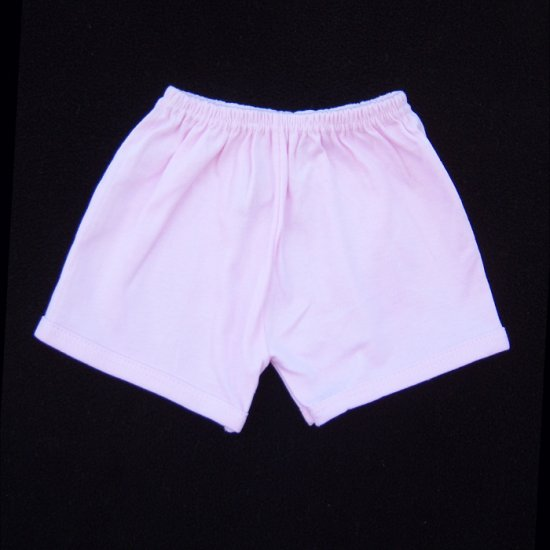 INFANT SLEEPWEAR - PINK SHORTS 3-6 MOS. - FREE USA + CAN SHIPPING