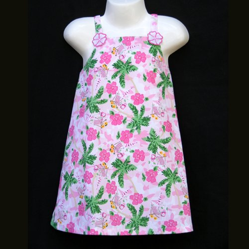 LIL' JELLYBEAN TROPICAL SUNDRESS GIRLS 4 - FREE USA + CAN SHIPPING