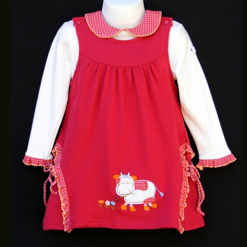 JB KIDS LONG SLEEVE DRESS SET 2T - FREE USA + CAN SHIPPING