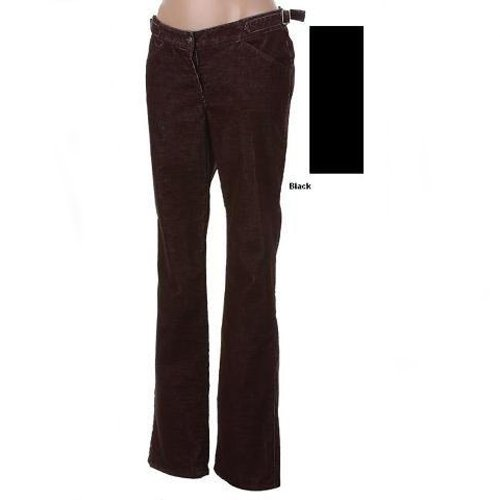 MAX STUDIO BLACK SLIM STRETCH CORDUROY PANTS 4 - FREE SHIPPING