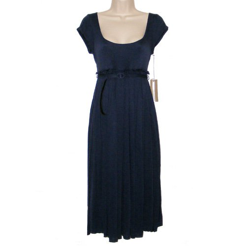 MATTY M CAP SLEEVE SOFT KNIT DRESS S - FREE USA + CAN SHIPPING