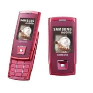 Samsung Sgh - J600 Gsm Unlocked Cell Phone In Silver pink and blue
