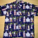 Mango Moon - Hawaiian Heroes Aloha Shirt - Navy Blue