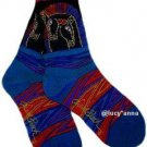 Laurel Burch Loving Horses Socks
