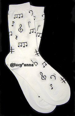 K.Bell Music Design Socks