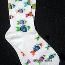 K.Bell Rainbow Fish Socks