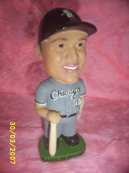 Bobble Head Chicago White Sox Magglio Orodnez baseball