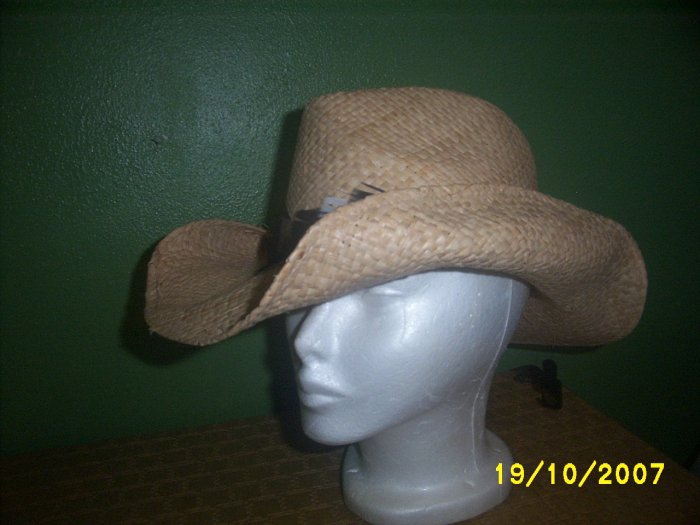 Cowboy Straw Hat New  Western wear