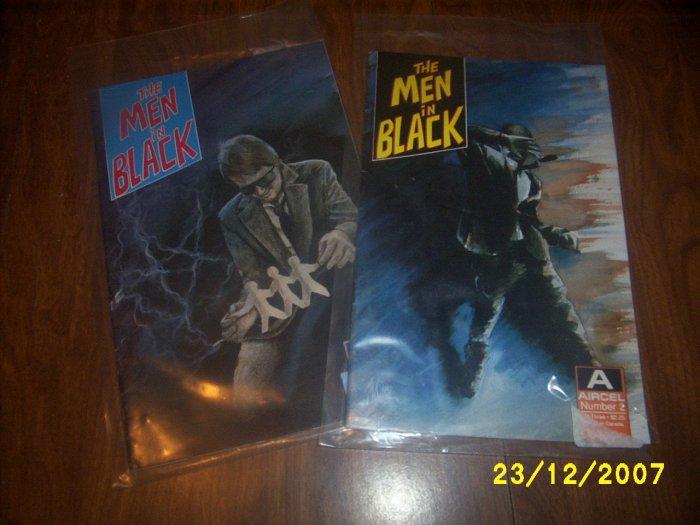 Men in Black 2 & 3  Comics  x 2  In plastic  MIB