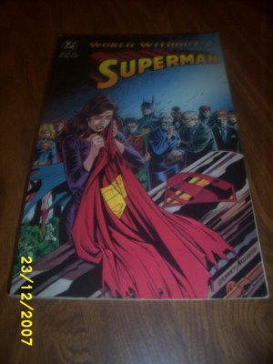 Comic World Without Superman x 1