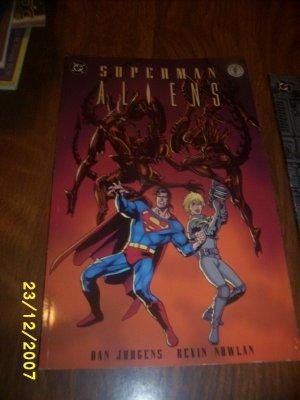 Comic Superman Aliens 2 of 3  1 comic