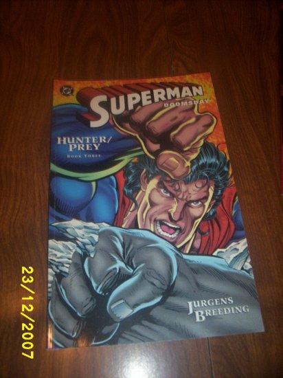 Superman Doomsday Hunter prey comic x 1