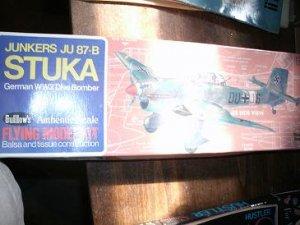 Junkers JU 87b Stuka German WW2 Bomber model plane