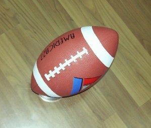 rubber American football