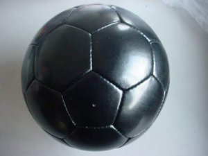 LEATHER HAND-SEWN SOCCER BALL