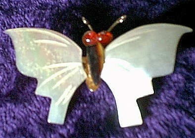 Mother of Pearl Butterfly Pin