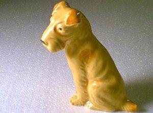 Ceramic Terrier ? Made in Japan Figurine Ornament