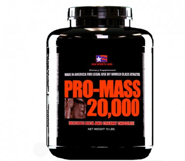 PRO-MASS 20,000  Dutch Chocolate Flavor 10 lb