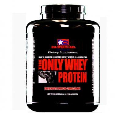 THE ONLY WHEY 80% (Highest B.V.) 25 lb Chocolate Flavor
