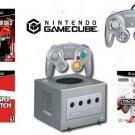 "Nintendo GameCube ""Gamers"" Bundle - 3 Games + 2 Controllers MSRP$ 199.99"