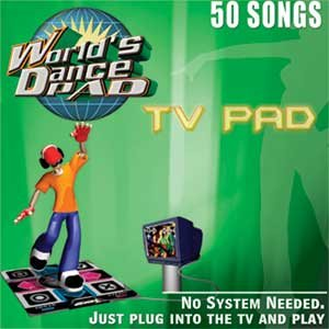 World's Dance TV Pad - 50 Songs & 50 Games
