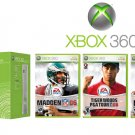 "Xbox 360 ""Core Sports Bundle"" Video Game System MSRP $899.99"