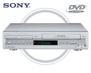 Sony SLV-D300P Combination Progressive-Scan DVD CD player + HiFi VCR