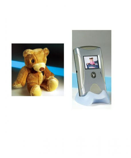 Safety Spy Bear System with Color Monitor
