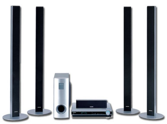 Samsung HT-DS630T - 600 Watts Tower Speakers 5 Disc DVD Home Theater System
