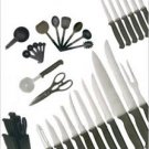 Homebasics by Ginsu 36 Piece Knife Set with Block