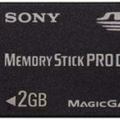 Sony MSX-M2GS - 2GB Memory Stick Duo Pro