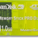 Sandisk 1GB Gaming Memory Stick PRO Duo