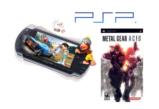 Sony Playstation Portable - Metal Gear Acid Combo
