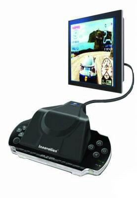 Plug & Play Sony PSP System Into any TV For Movies-Games MSRP $139.99