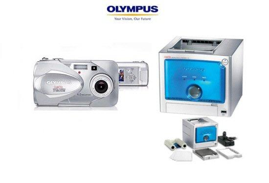 Olympus D580  4.0 MP Digi Camera + Olympus P10 Digi Printer Combo