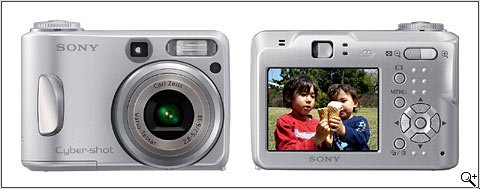 Sony CyberShot DSC-S90 - 4.1 MegaPixels Digital Camera with 3x Optical Zoom