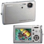 "Sony DSCT33 Cyber-Shot - 5.1 MegaPixels - 3x Optical Zoom - 6x Digital Zoom - 2.5"" Hybrid LCD"