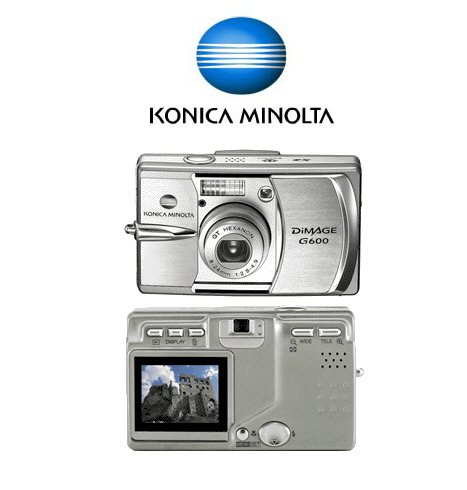 Minolta Dimage G600 - 6.0 Megapixels Digital Camera with 3x Optical Zoom