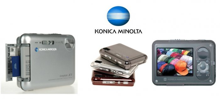 Konica Minolta DiMAGE X1 - Ultra Slim 8.0 Mp Digi Camera with 3x Opti4x Digi Zoom  Docking Station