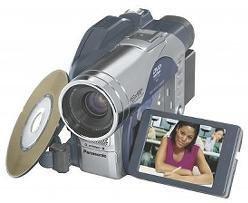"PANASONIC VDRM50 DVD-RAM DVD-R DIGI CAMCORDER 2.5"" LCD"