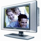 "Magnavox 17"" Widescreen LCD HDTV with Built-In DVD Player"