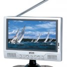 Naxa - 7 Inch Portable LCD TV w Stand and Remote Control + PALNTCS Compatible