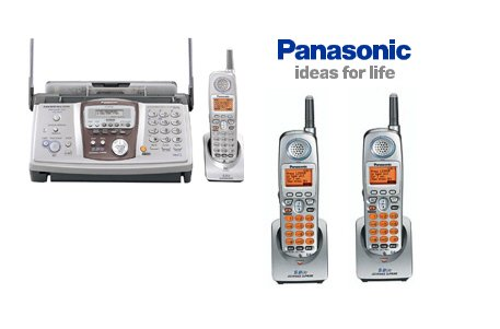 Panasonic KX FPG391  5.8 GHz Fax Copier Phone System with 3 Handsets