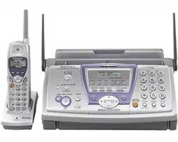 Panasonic KX FPG381 CORDLESS Phone FAX machine