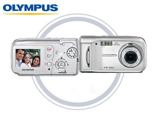 Olympus FE120 - 6.0 Megapixels Digital Camera with 3x Optical Zoom