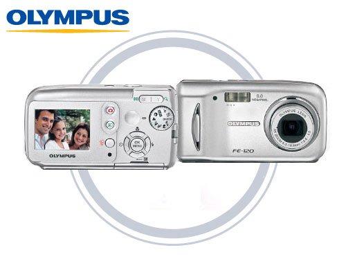 Olympus FE120 - 6.0 Megapixels Digital Camera with 3x Optical Zoom