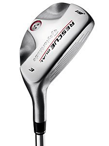 Taylor Made Mens Rescue Dual Hybrid Woods - Graphite