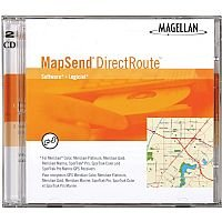 Magellan MapSend DirectRoute CD Software