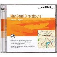 Magellan MapSend DirectRoute CD Software